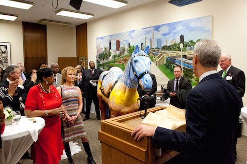 Mayor Emanuel Supporting Police Memorial Foundation Through City  Council Gift