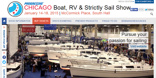 Chicago Boat, RV & Strictly Sail Show